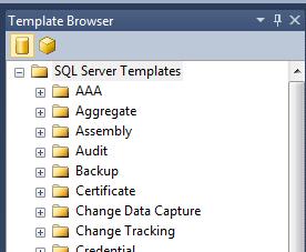 SQL Server Templates